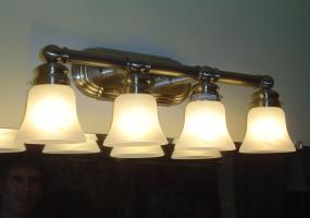 Bathroom Light Fixture Installation