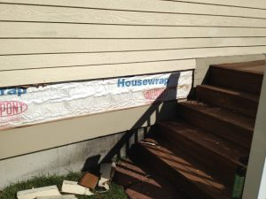 Masonite clapboard siding repair
