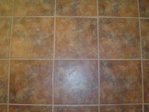 Installing ceramic tile floor