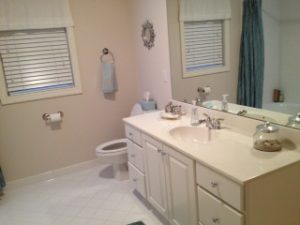 Planning a small bathroom remodeling project.