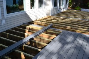 Resurfacing Deck with Trex Select Composite Decking