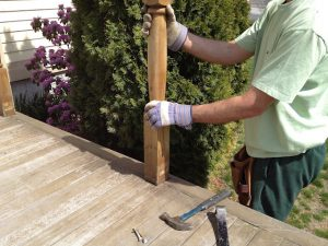 Renovating the deck is a great way to improve the exterior of your home.