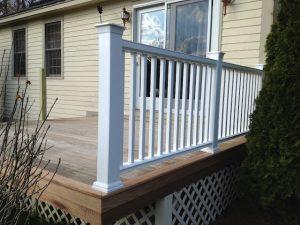 How to Install Lattice around a Deck