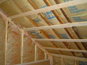 How to Install Fiberglass Insulation Non Drywalled Ceiling