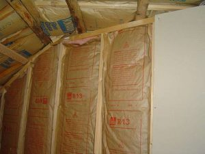 Simply insulating walls with fibgrlass rolled or batt insulation can provide adequate sound insulation.