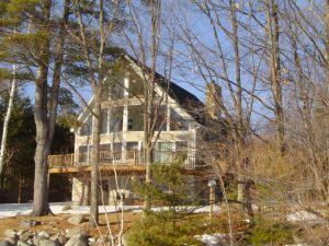 A picture of our first Lake Winnipesaukee Vacation Home.