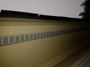 Soffit Vents play an important role in keeping your attic cool.