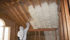 Closed cell vs open cell spray foam insulation comparison.