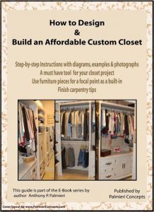 Design and Build a Custom Closet Ebook