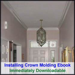 Learn How to Quickly Install Crown Molding