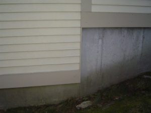 Stepped Foundation Walls