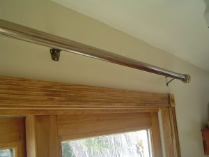 Installing a Curtain Rod over a Sliding Glass Door