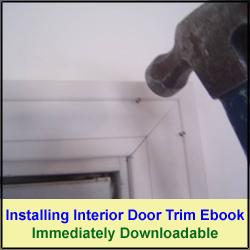 Installing Interior door trim ebook