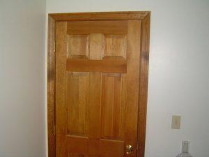 Here is a 6 panel wood door.