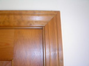 Planing a Sticking Door