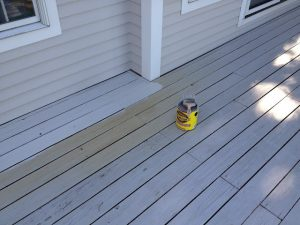 How to Stain Deck with Solid Acrylic Deck Stain