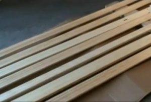Pre-finishing Wood Trim