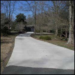 Concrete Slab Driveway