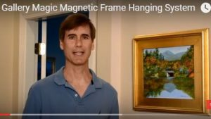 Gallery Magic Magnetic Frame Hanging System