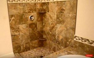 Tiling Master ensuite Tile Shower Tub