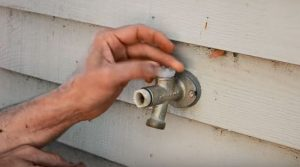 anti-Siphon valve outdoor spigot