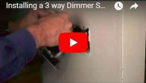 Install 3-way dimmer switch for 3-way bulbs